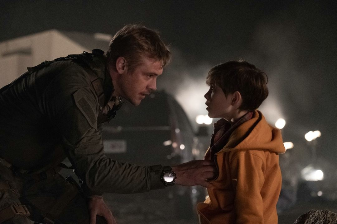 Predator - Upgrade : Bild Boyd Holbrook, Jacob Tremblay