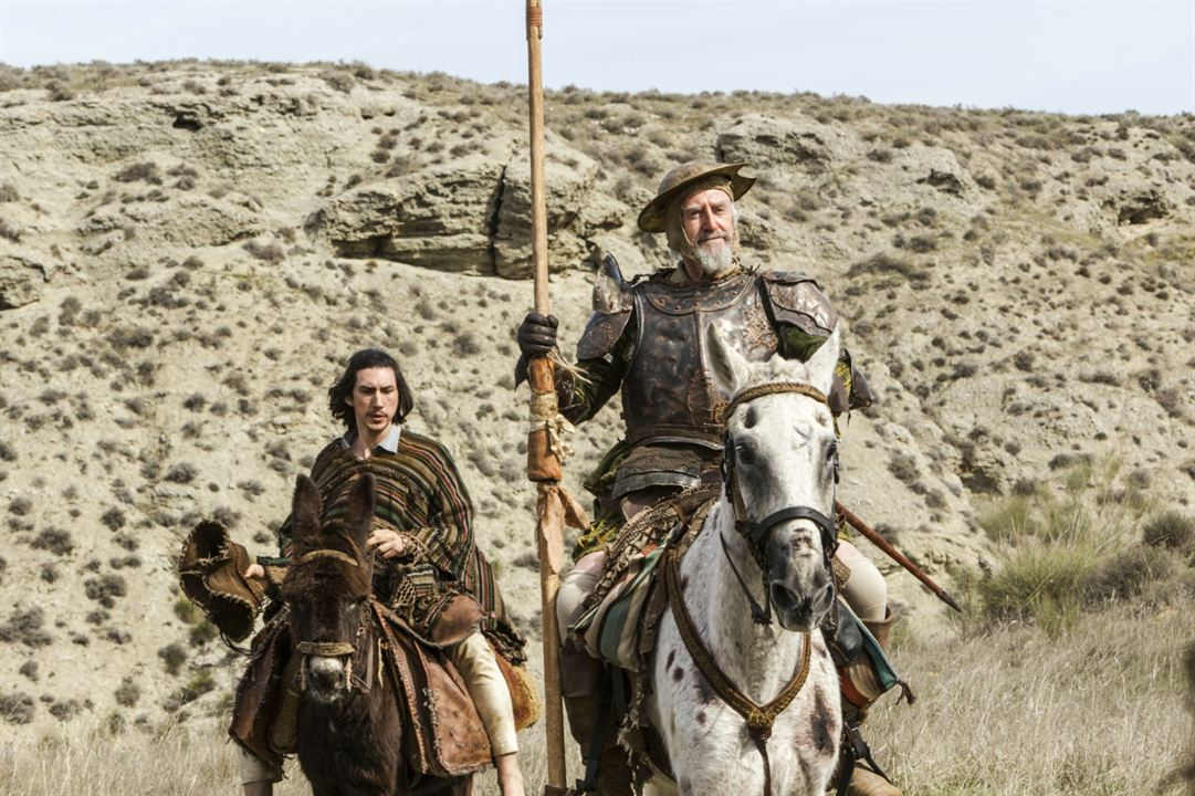 The Man Who Killed Don Quixote : Bild Adam Driver, Jonathan Pryce