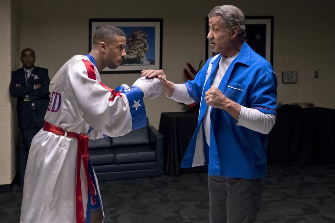 Creed 2 : Bild Michael B. Jordan, Sylvester Stallone