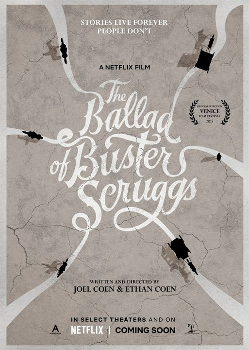 The Ballad of Buster Scruggs : Kinoposter