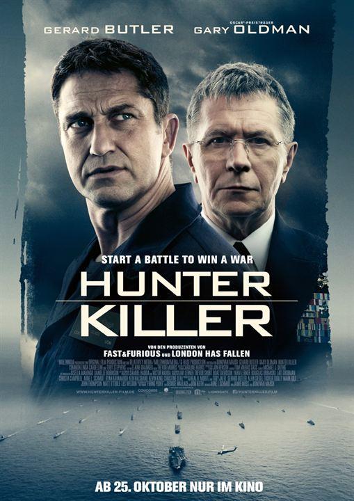 Bildergebnis für hunter killer poster