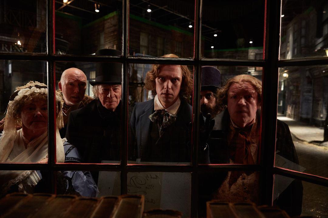 Charles Dickens: Der Mann, der Weihnachten erfand : Bild Christopher Plummer, Dan Stevens, Miriam Margolyes