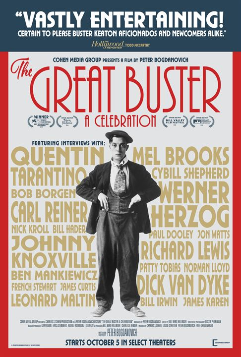 The Great Buster : Kinoposter