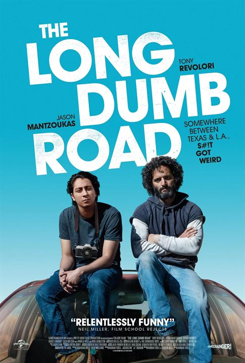 The Long Dumb Road : Kinoposter
