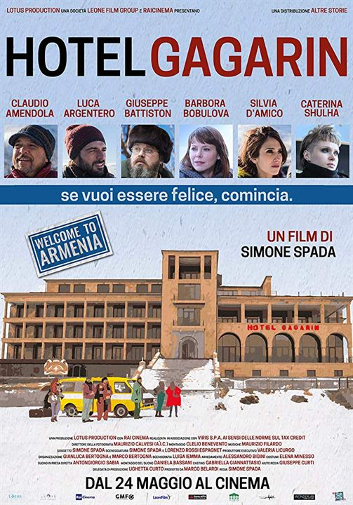 Hotel Gagarin : Kinoposter