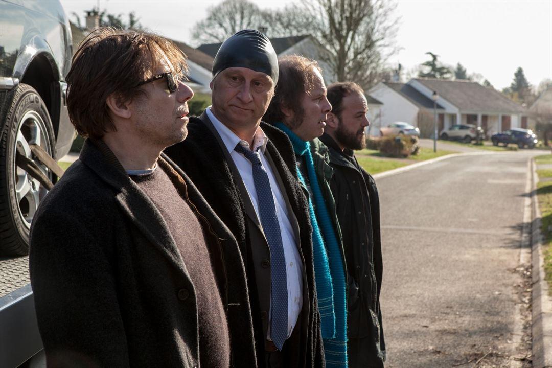 Ein Becken voller Männer : Bild Alban Ivanov, Benoît Poelvoorde, Mathieu Amalric, Philippe Katerine