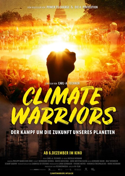Climate Warriors : Kinoposter
