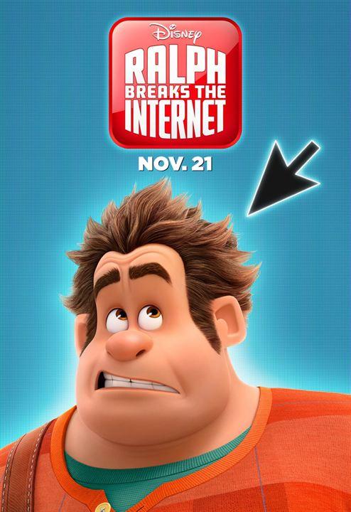 Ralph reichts 2: Chaos im Netz : Kinoposter