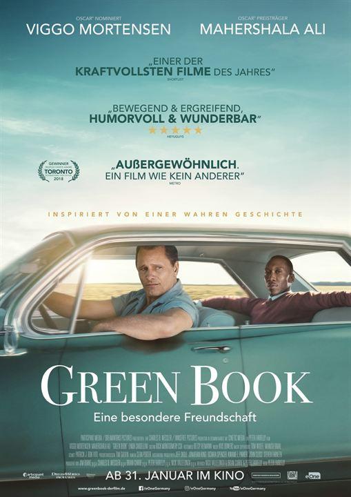 Green Book - Eine besondere Freundschaft : Kinoposter