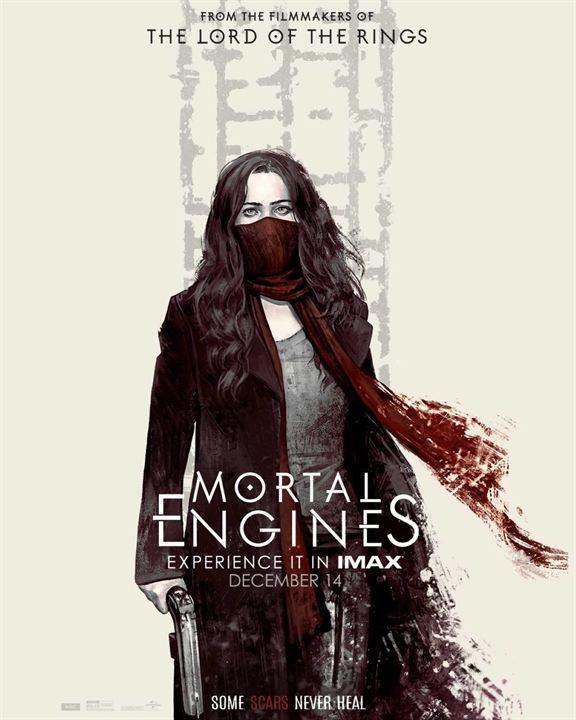 Mortal Engines: Krieg der Städte : Kinoposter
