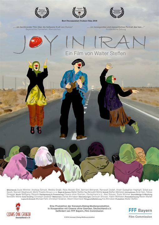 Joy In Iran : Kinoposter