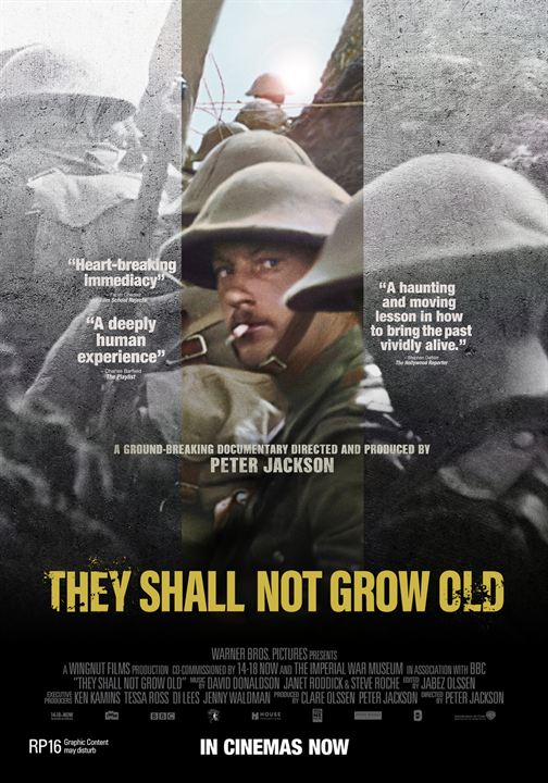 They Shall Not Grow Old : Kinoposter