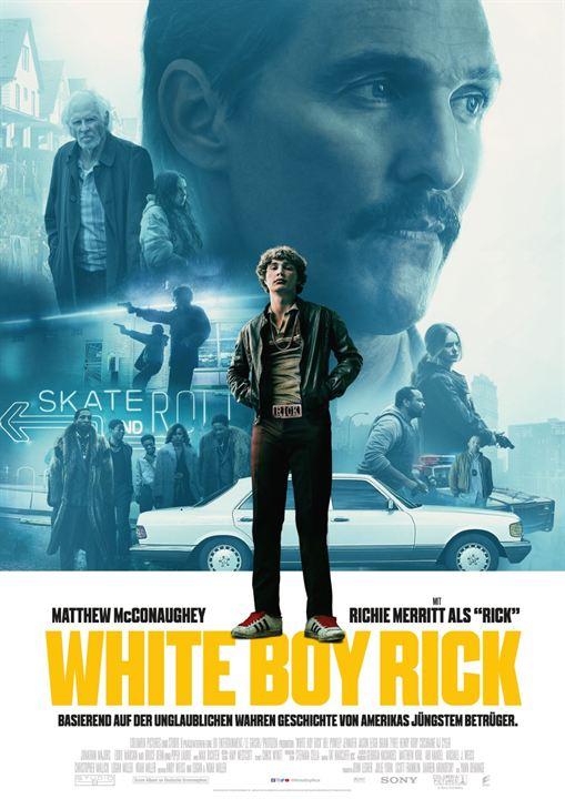 White Boy Rick : Kinoposter