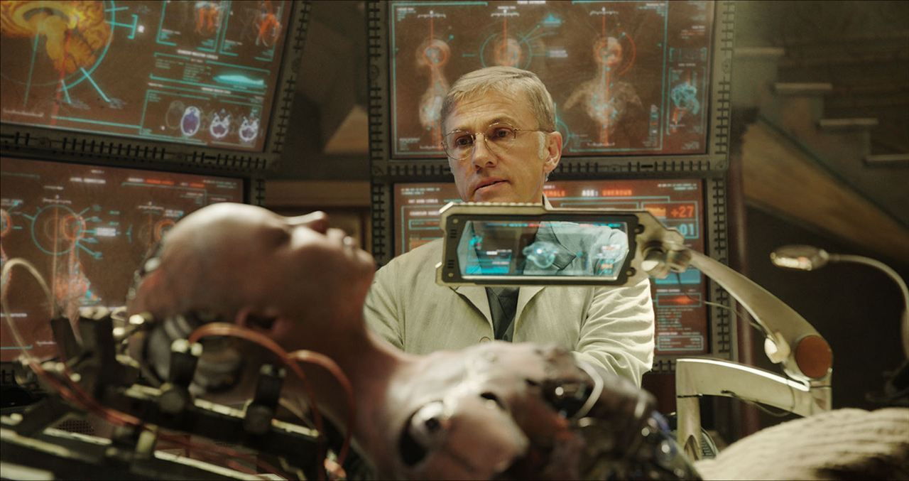 Alita: Battle Angel : Bild Christoph Waltz