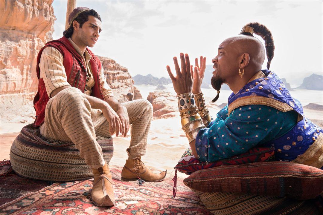 Aladdin : Bild Mena Massoud, Will Smith