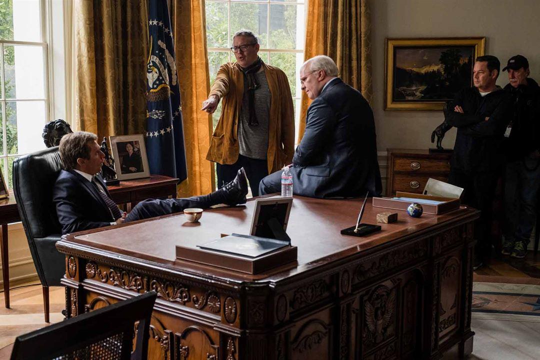 Vice - Der zweite Mann : Bild Adam McKay, Christian Bale, Steve Carell