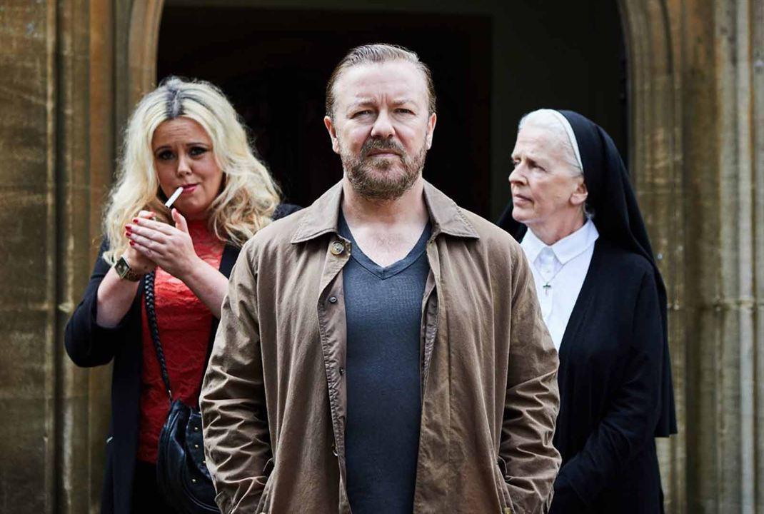 Vignette (magazine) Ashley Jensen, Ricky Gervais