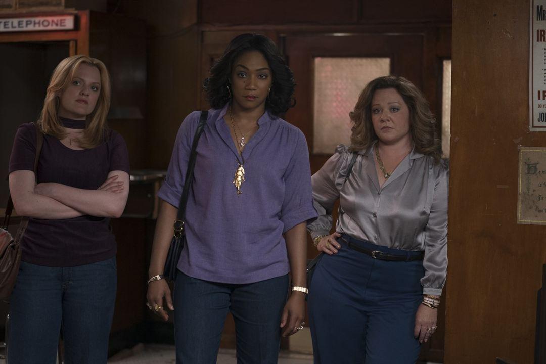 The Kitchen: Queens Of Crime : Bild Elisabeth Moss, Melissa McCarthy, Tiffany Haddish