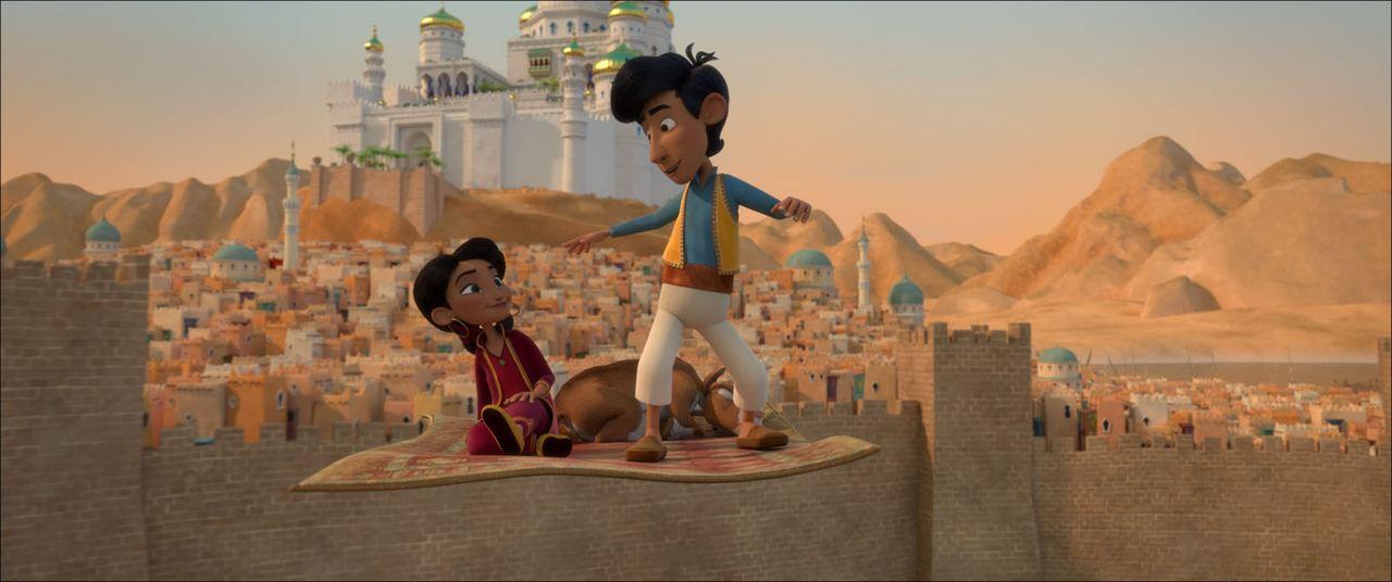 Kleiner Aladin und der Zauberteppich : Bild