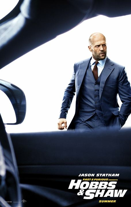 Fast & Furious: Hobbs & Shaw : Kinoposter Jason Statham