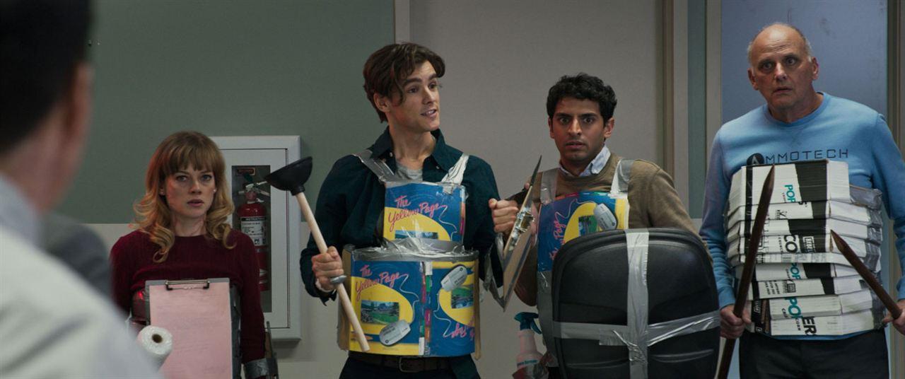 Office Uprising : Bild Brenton Thwaites, Jane Levy, Karan Soni, Kurt Fuller