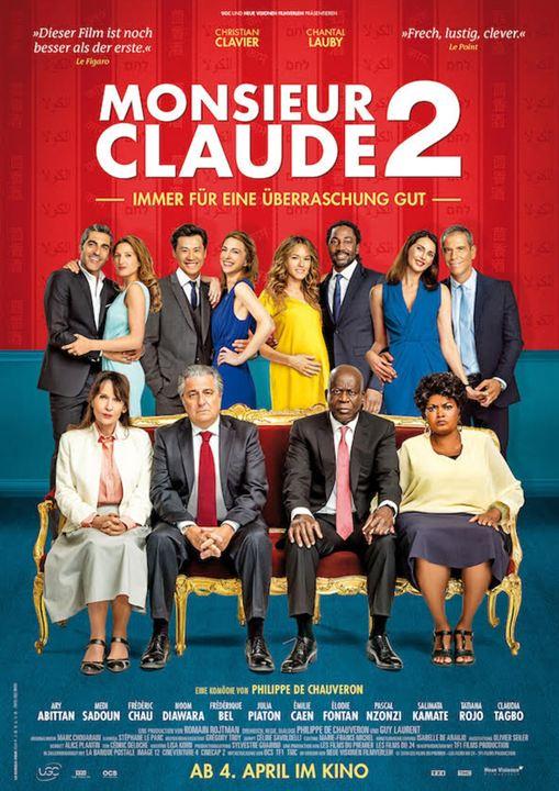 Monsieur Claude 2 : Kinoposter