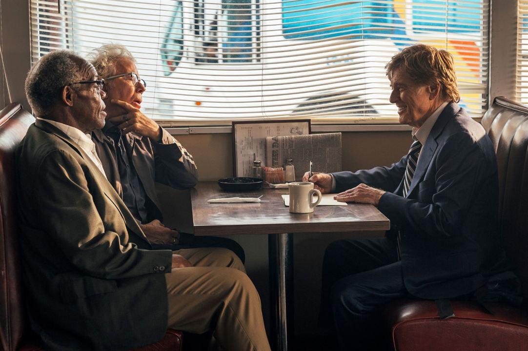 Ein Gauner und Gentleman : Bild Danny Glover, Robert Redford, Tom Waits