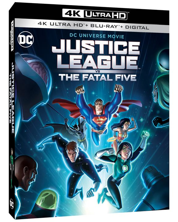 Justice League vs. The Fatal Five : Kinoposter