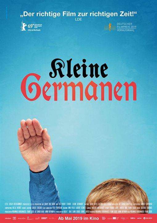 Kleine Germanen : Kinoposter