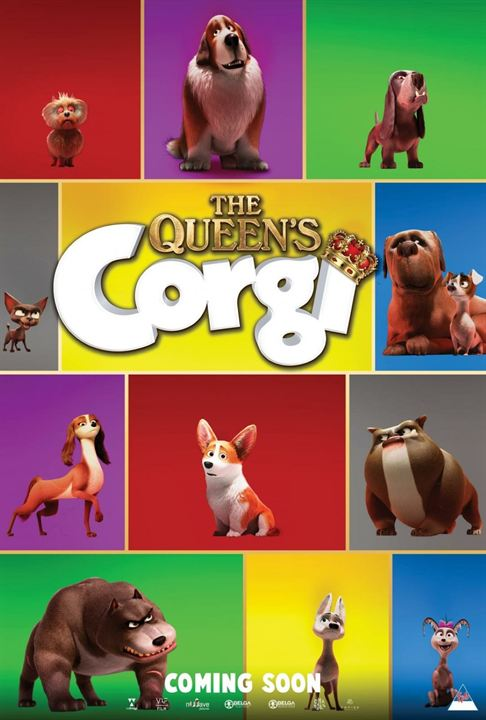 Royal Corgi - Der Liebling der Queen : Kinoposter