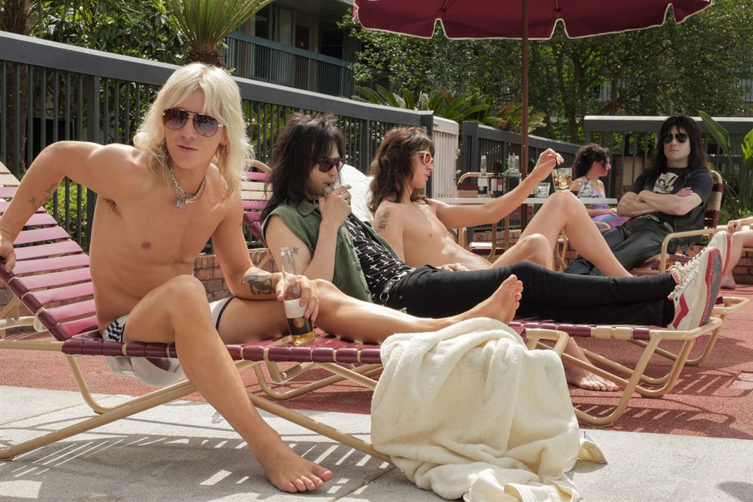 The Dirt: Sie wollten Sex, Drugs & Rock'n'Roll : Bild Daniel Webber, Douglas Booth, Iwan Rheon, Machine Gun Kelly