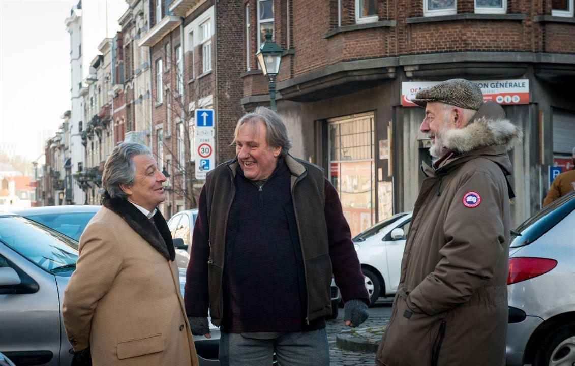 Bild Bertrand Blier, Christian Clavier, Gérard Depardieu
