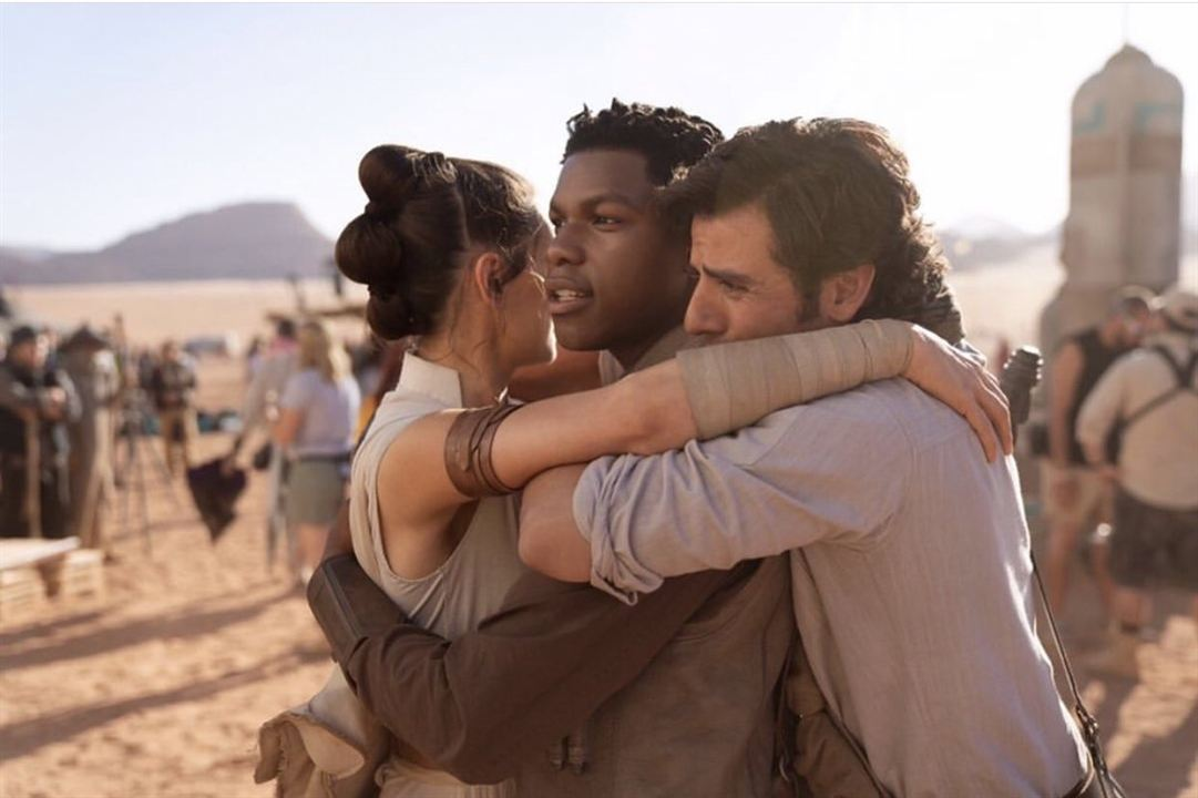 Star Wars 9 : Vignette (magazine) Daisy Ridley, John Boyega, Oscar Isaac
