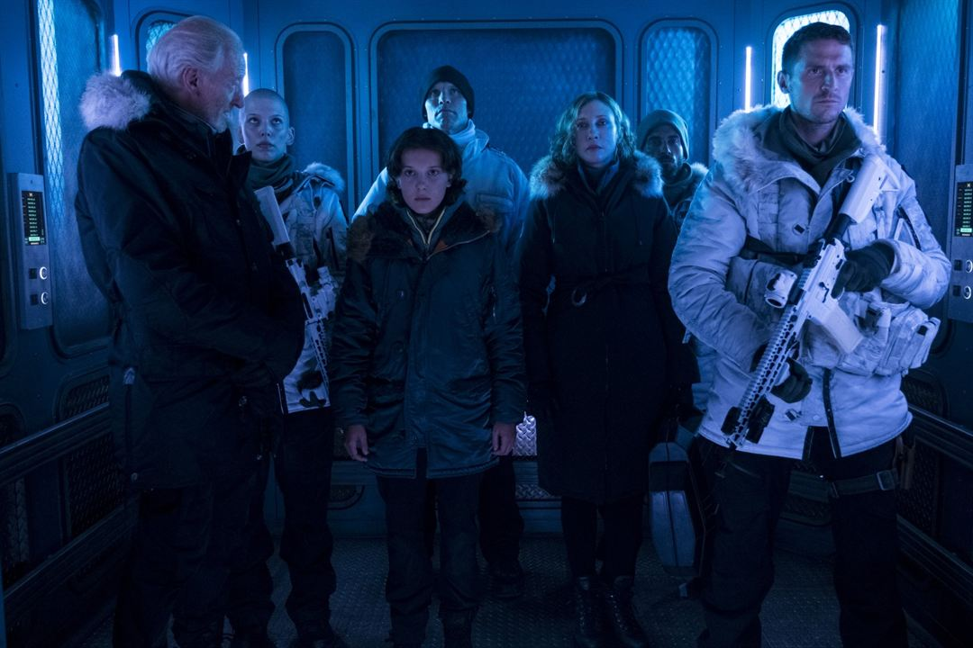 Godzilla 2: King Of The Monsters : Bild Charles Dance, Millie Bobby Brown, Vera Farmiga