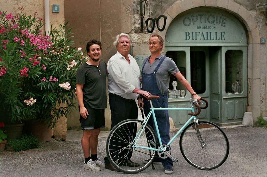 Das Geheimnis des Fahrradhändlers : Bild Benoît Poelvoorde, Jean-Jacques Sempé, Pierre Godeau