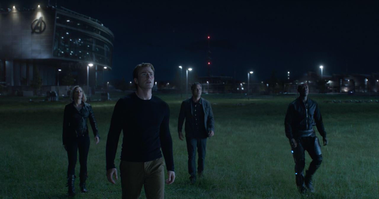 Avengers 4: Endgame : Bild Chris Evans, Don Cheadle, Mark Ruffalo, Scarlett Johansson