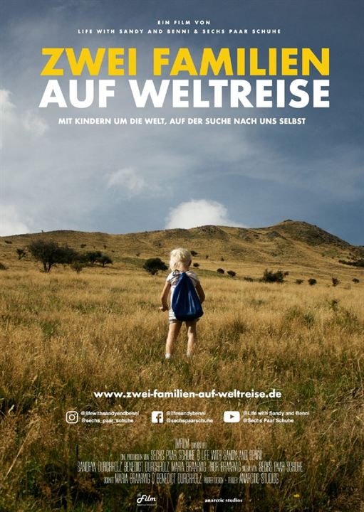 Zwei Familien auf Weltreise - Der Film : Kinoposter