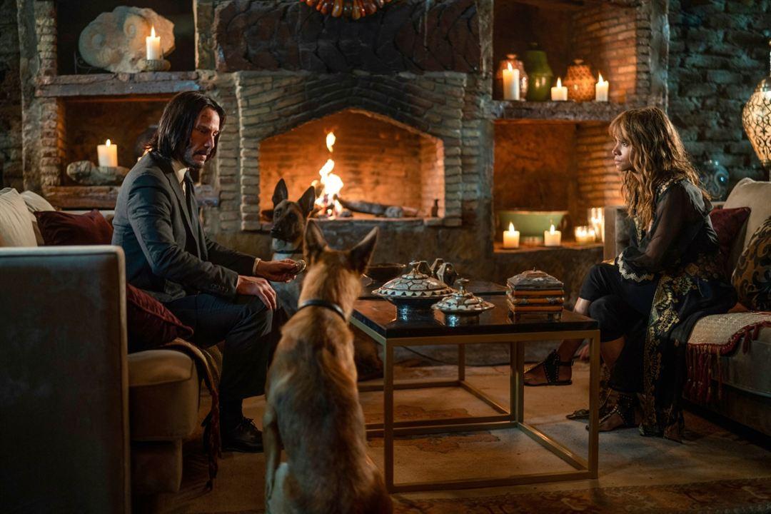 John Wick: Kapitel 3 : Bild Halle Berry, Keanu Reeves