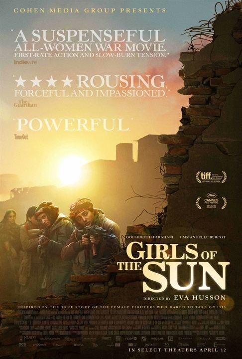 Les Filles du soleil : Kinoposter