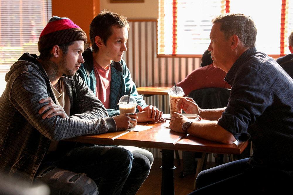 Bild Matthew Lillard, Ryan Masson, Travis Mills