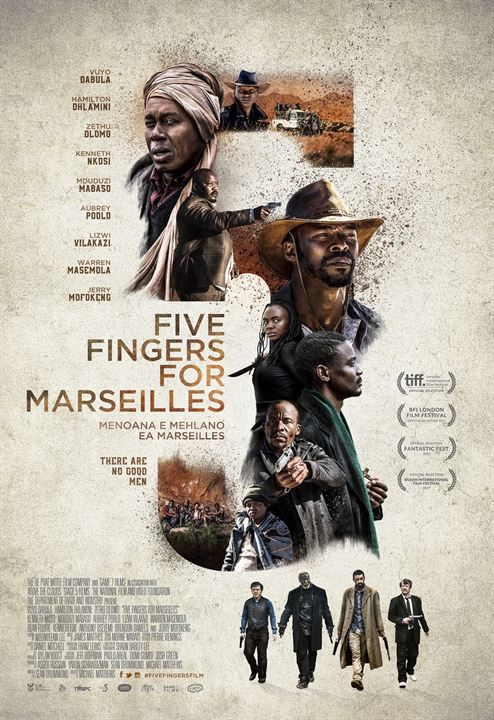 Five Fingers For Marseilles : Kinoposter