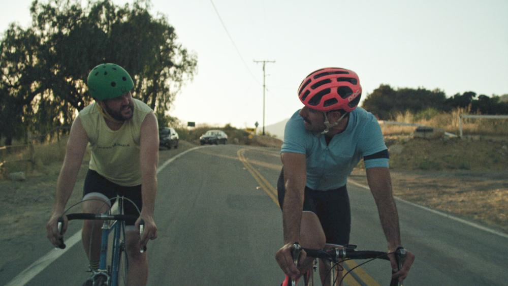 The Climb : Bild Kyle Marvin, Michael Angelo Covino