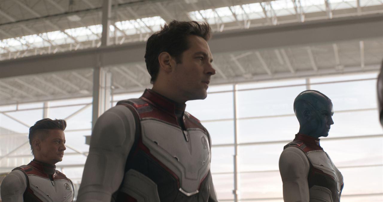Avengers 4: Endgame : Bild Jeremy Renner, Karen Gillan, Paul Rudd