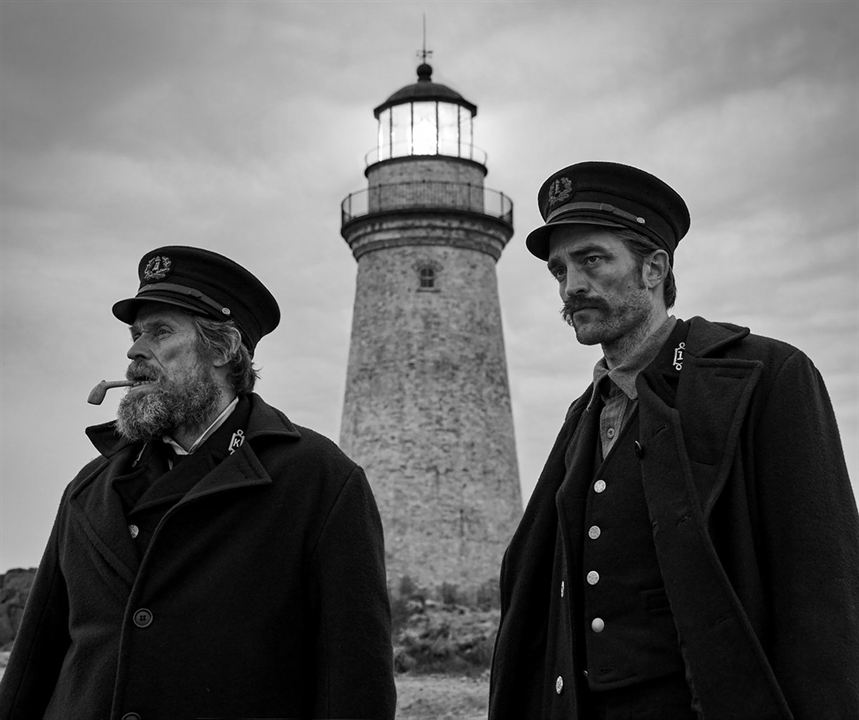 The Lighthouse : Bild Robert Pattinson, Willem Dafoe