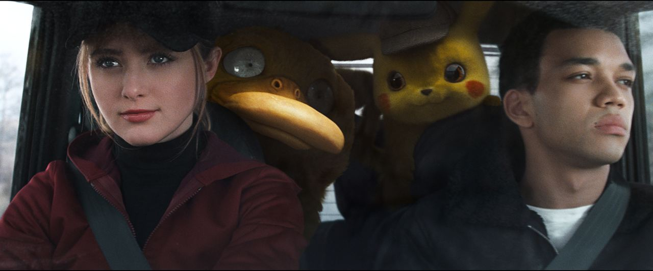 Pokémon Meisterdetektiv Pikachu : Bild Justice Smith, Kathryn Newton