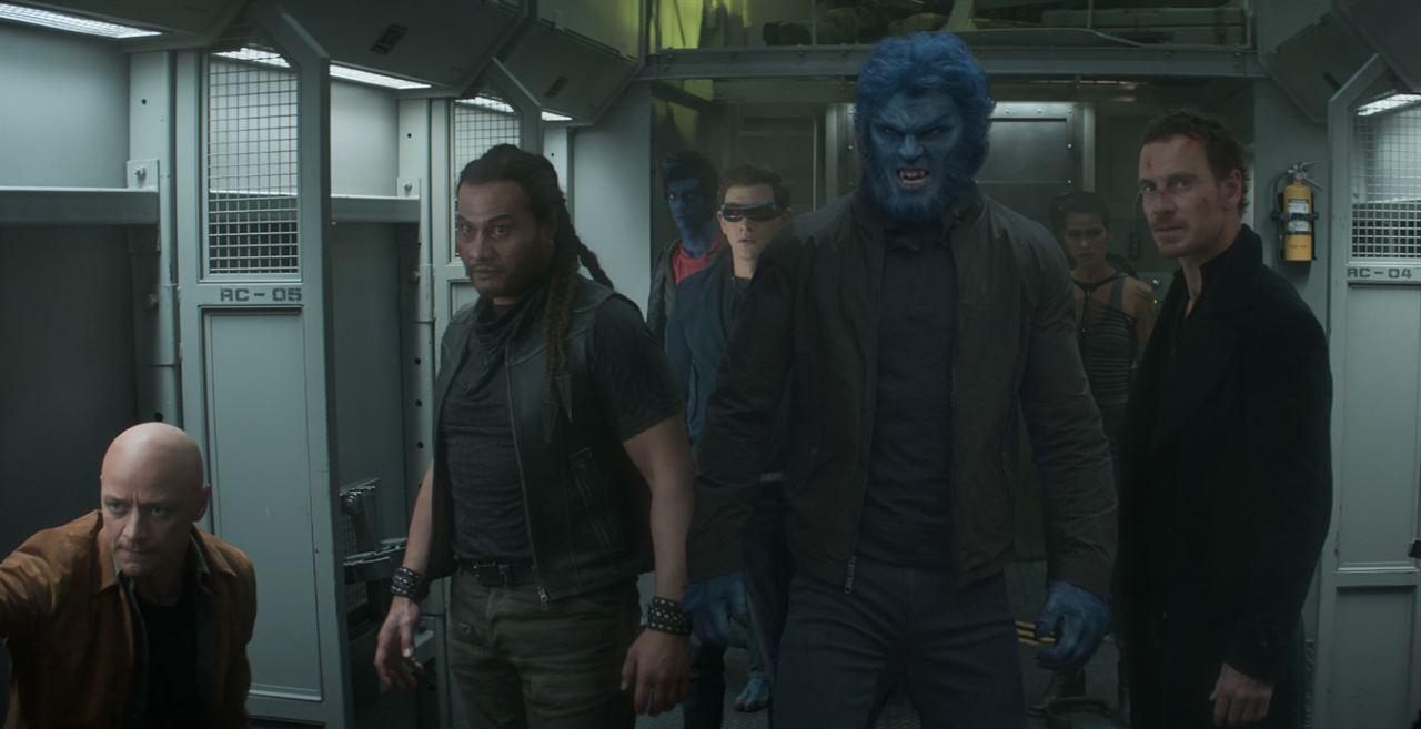 X-Men: Dark Phoenix: Tye Sheridan, Michael Fassbender, Kodi Smit-McPhee, Andrew Stehlin, Nicholas Hoult, Kota Eberhardt, James McAvoy