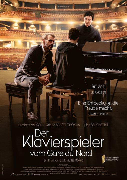Der Klavierspieler vom Gare du Nord : Kinoposter