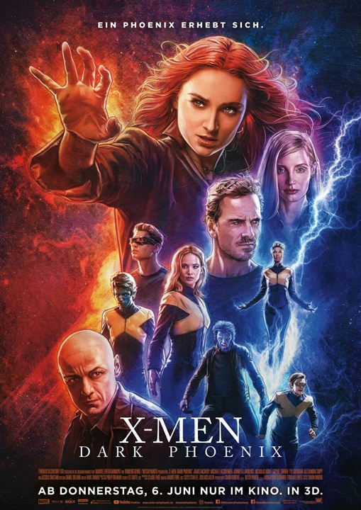 X-Men: Dark Phoenix : Kinoposter