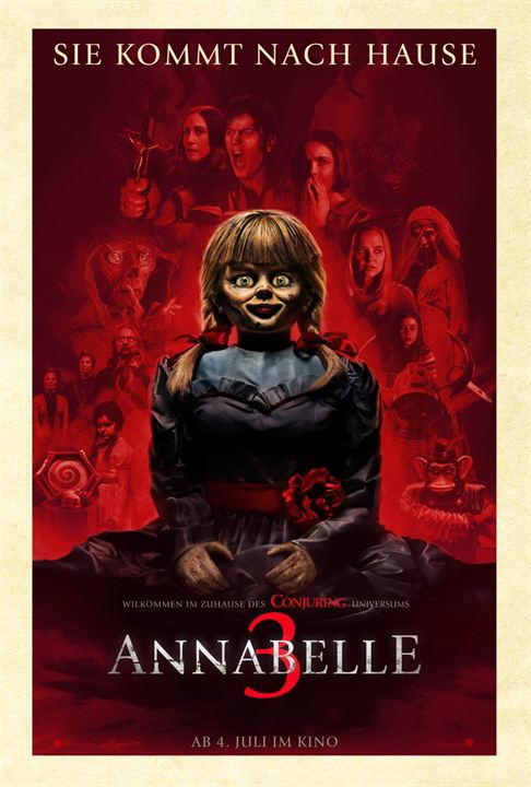 Annabelle 3 : Kinoposter