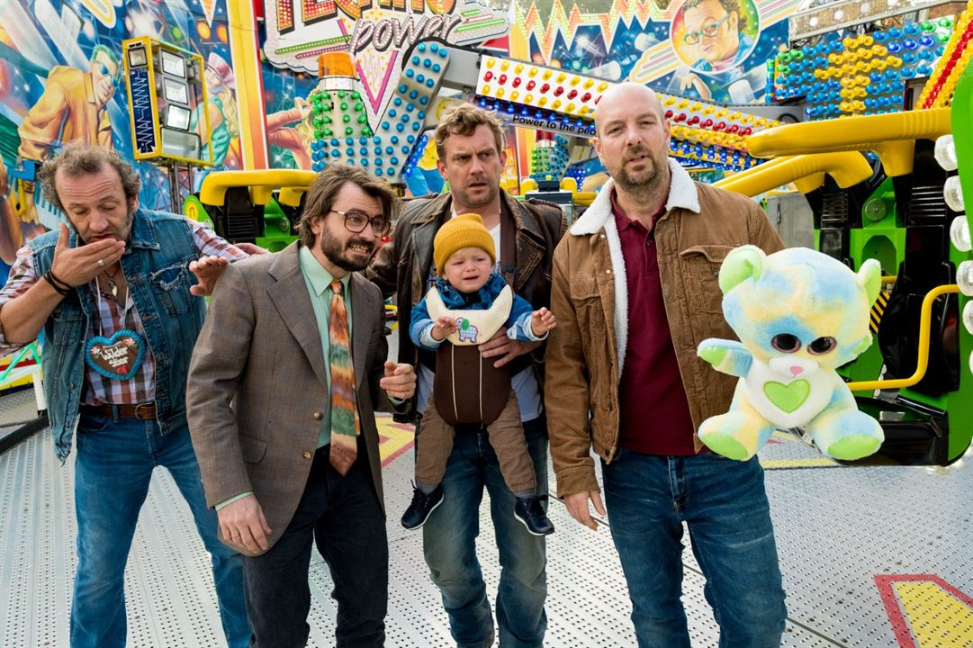 Leberkäsjunkie : Bild Daniel Christensen, Max Schmidt, Sebastian Bezzel, Stephan Zinner